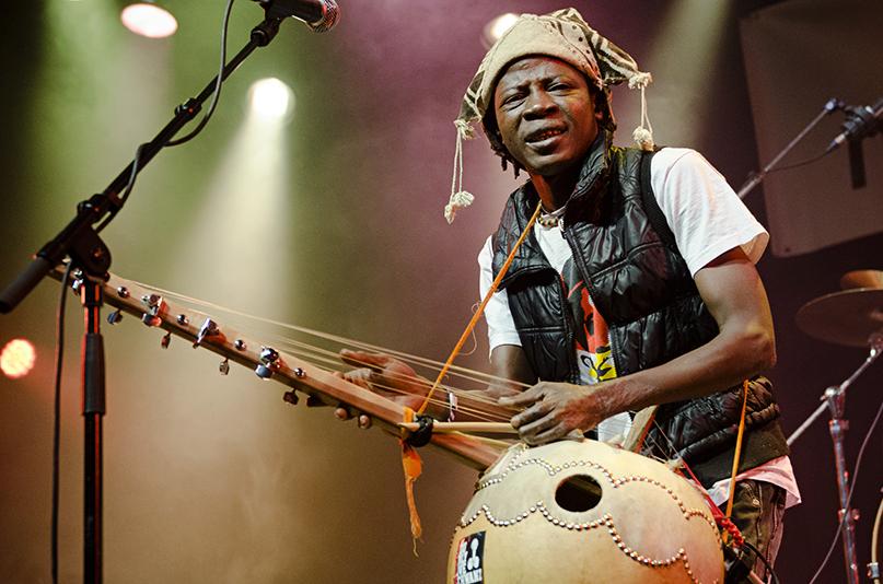 Concert fotografie 2015   Baba Commandant & The Mandingo Band