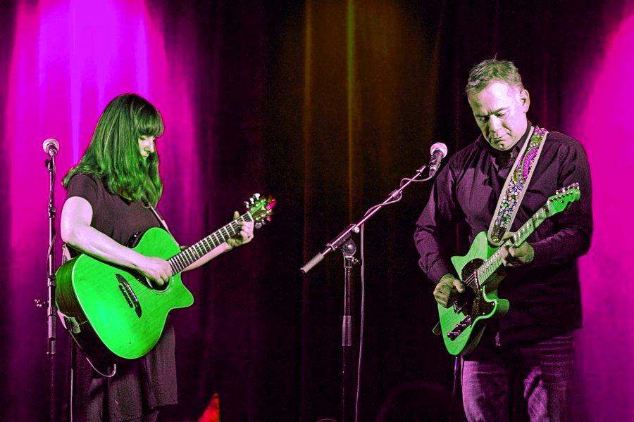 BJ Baartmans en Suzie Ungerleider in Trianon Nijmegen | Foto © Henk Beenen